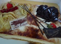 Le Corsaire, spécialité pâtissière gracieusement offert par Cora. Un délice !