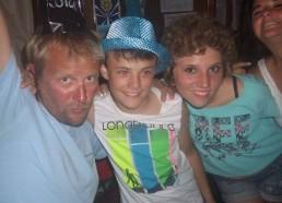 Flo, la bigouden, Thomas et Sophie