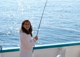 Première pêche pour Solène