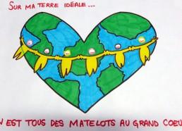 Concours dessin : Ma terre idéale - Hôpital ANDRE MIGNOT - LE CHESNAY VERSAILLES
