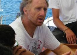 Charles Pinelli, président de l'Association les Amis des Agriates