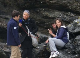 Pendant ce temps Clément, Florian et Camille avec France Bleu