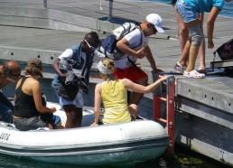 Le débarquement des matelots