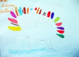 Concours dessins : Mon bateau imaginaire - Alice, Mon bateau ballons ! - Centre Hospitalier Yves Le Fol Saint-Brieuc