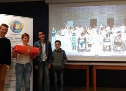 Remise des Prix : Un ordinateur portable pour le 1er, l'ESEAN (Etablissement de Santé pour Enfants & Adolescents de la région NANTAISE)
