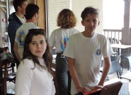 Les Matelots gèrent les inscriptions pour le concours de pétanque