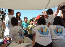 Nous accueillons des enfants de l'hôpital de La Rochelle à bord