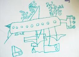 Concours dessins : Mon bateau imaginaire - Kémy - Hôpital National de SAINT-MAURICE