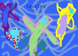 Concours dessin : Mon plus beau poisson - Laurine - ESEAN Etablissement de Santé pour Enfants & Adolescents de la région Nantaise