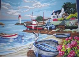 Concours dessins : Mon bateau imaginaire - Chloé - Hôpital ANDRE MIGNOT - LE CHESNAY VERSAILLES