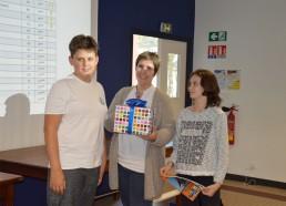 Kylian, Karine et une future (?) Matelote de l'ESEAN motivée...