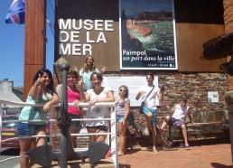 Les matelots au musée de la mer