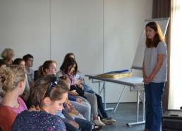 Capucine TROCHET, touchée, nous raconte sa rencontre avec les Matelots