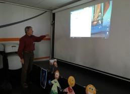 Présentation des types de jeux quotidiens envoyés aux hôpitaux par Jean-Yves CHAUVE