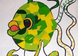 Concours dessin : Mon plus beau poisson - Catherine - Hôpital ANDRE MIGNOT - LE CHESNAY VERSAILLES