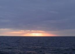 Lever de soleil à Belle Ile