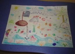 Concours dessins : Mon bateau imaginaire - Armand - Hôpital ANDRE MIGNOT - LE CHESNAY VERSAILLES