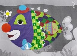 Concours dessin : Mon plus beau poisson - Hôpital ANDRE MIGNOT - LE CHESNAY VERSAILLES