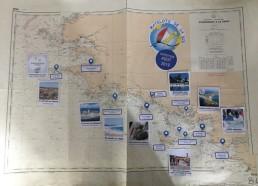 Carte de présentation de la 23ème expédition AOÛT 2019 Bretagne SUD
