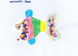 Concours dessin : Mon plus beau poisson - Orianne, 8 ans - CHD Vendée La Roche sur Yon