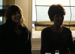 Agathe, ancienne matelote et Françoise, la Présidente des Matelots de la Vie