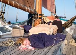 Petite sieste après le départ