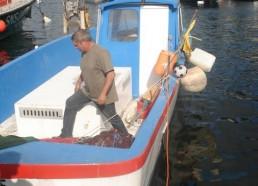 Visite à un pêcheur
