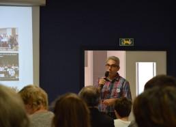 Patrick Lemesle, Président des Matelots de la Vie, ouvre la conférence