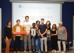 Le Podium Hôpitaux et Matelots, Challenge des Matelots 2018