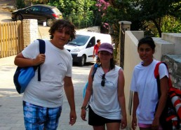 Adam, Laura et Mélissa