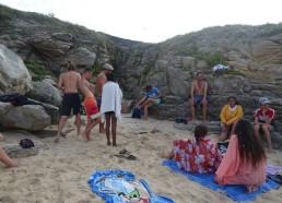 Après cette après-midi, petite pause sur la plage