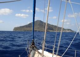 En vue de l'île de Panarea !