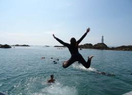 Solène fait un super saut