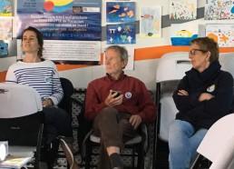 Elsa GOURIOU, Jean Yves CHAUVE et Josiane BIHANNIC