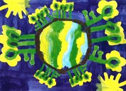 Concours dessin : Ma terre idéale - ESEAN Etablissement de Santé pour Enfants & Adolescents de la région Nantaise