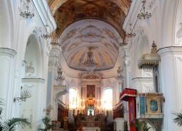 Le cœur de la cathédrale de Lipari