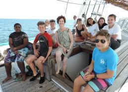 Les Matelots & Diane, marraine des expéditions 2018