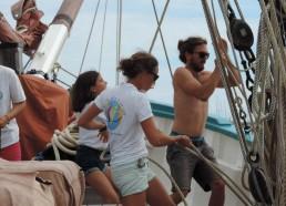 Amandine, Marion et Matthieu