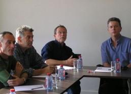 L'équipe des Matelots de la Vie à la réunion
