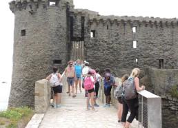 Sur le pont du Château