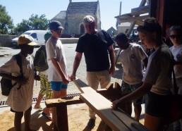 Explication des différentes essences de bois utilisées