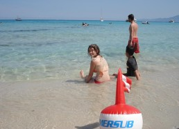 La plage de la Saleccia