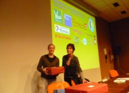 3ème prix pour Curie, des manettes pour la wii qu'ils ont gagné l'an dernier