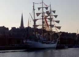Le Gloria, navire colombien