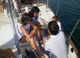 Mélissa, Laura et Hugo répondent à la radio