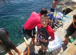 Alexandre, notre caméraman subaquatique