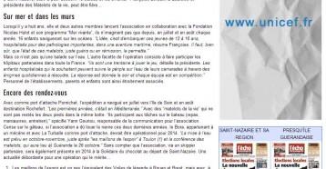 Les Matelots de la vie gardent le cap, L'écho de la Presqu'île 13/09/2013