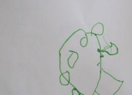 Concours dessin : Mon plus beau poisson - Poisson vert de Fayssel - Hôpital National de SAINT-MAURICE
