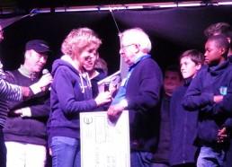 Françoise et les matelots remercient chaleureusement le festival de sa gentillesse