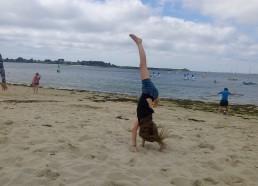 Gabriella une vraie gymnaste